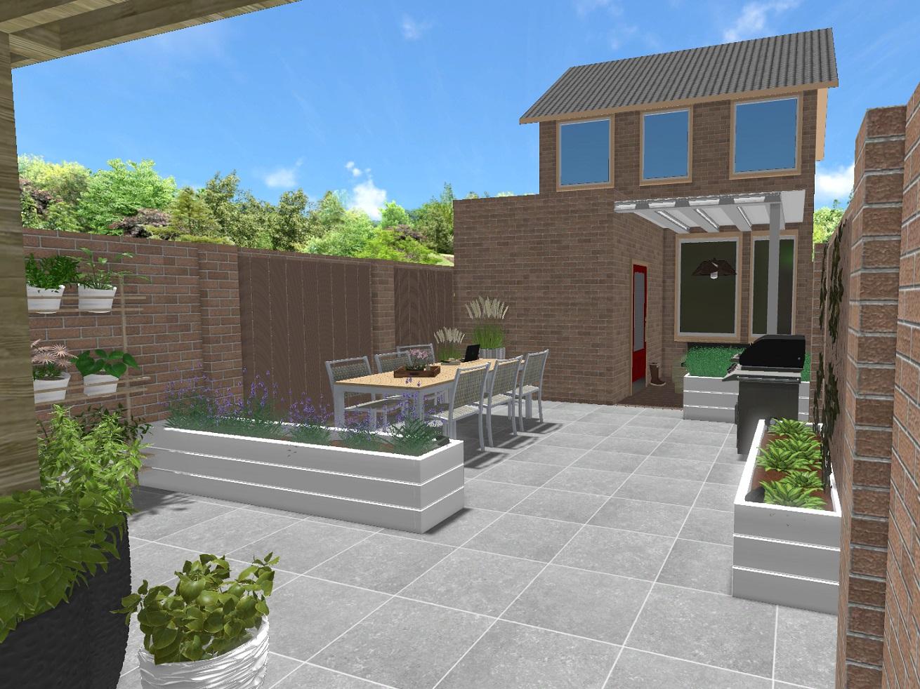 Exclusieve tuinen en levensechte 3d ontwerpen √ bijzonder en eigentijds