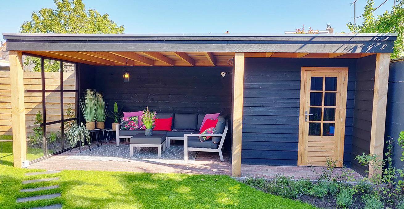 Wonderbaarlijk Houten tuingebouw op maat, ook in jouw straat √ Van Rijn CB-96
