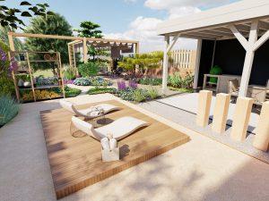 modern klassieke tuin ontwerp