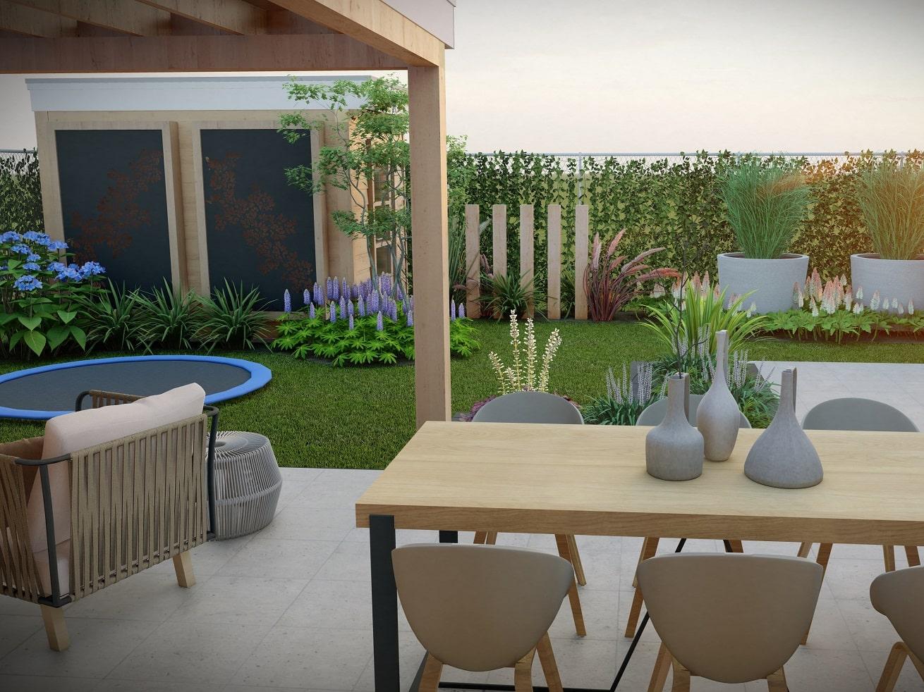 3d tuinontwerp voor de perfecte beleving